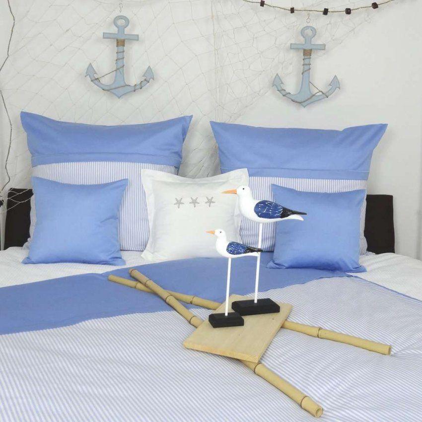 Maritime Bettwäsche Mit Zierstich  Wwwnautichome von Maritime Bettwäsche 155X220 Bild