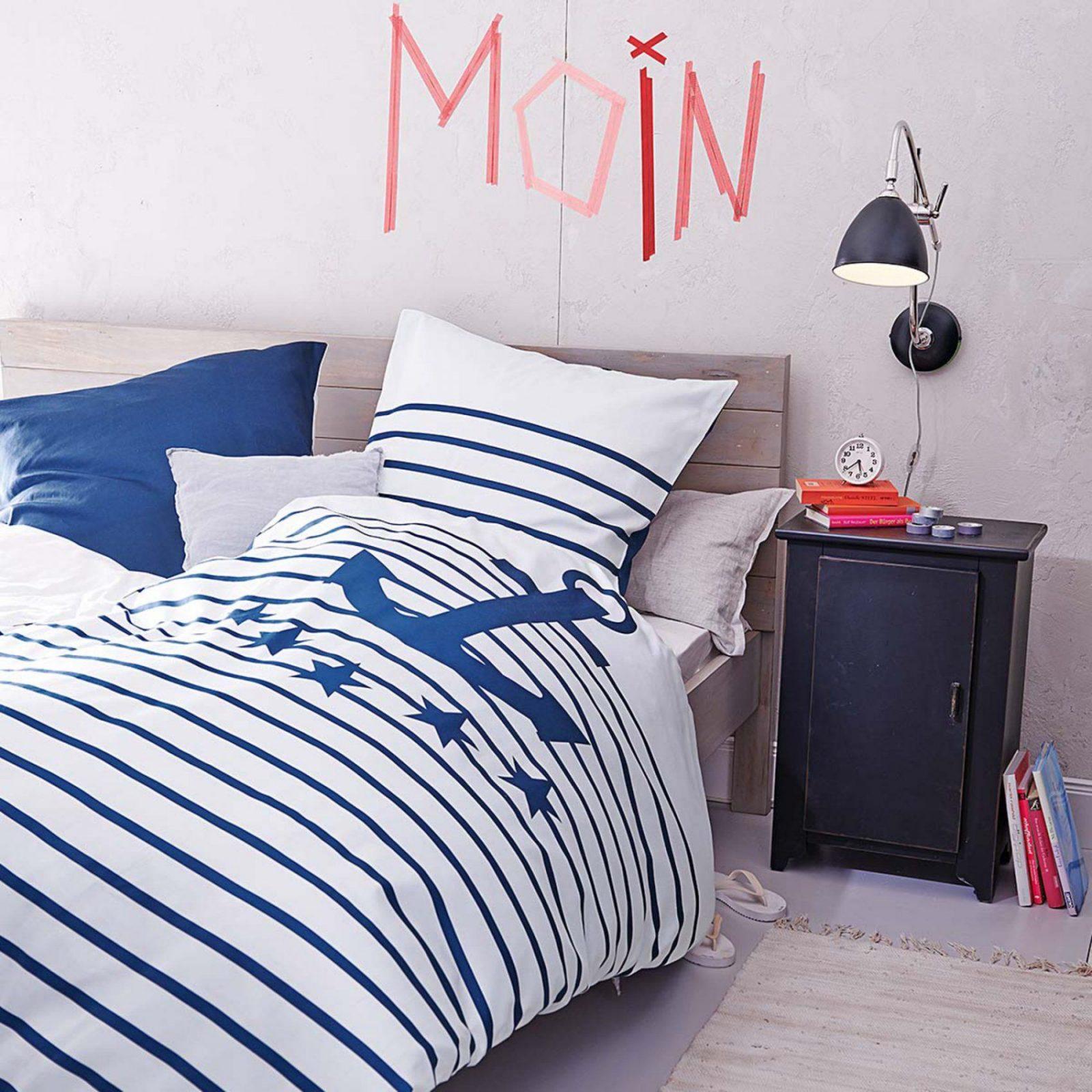Maritimer Wohnstil  Stilpalast von Maritime Bettwäsche Günstig Photo