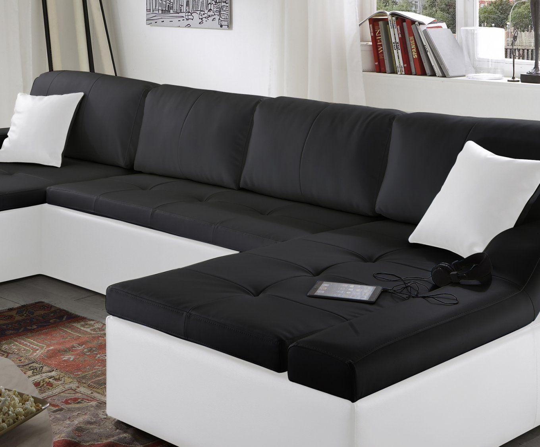 Marvelous Schwarz Weiß Sofa Weiss Leder Sofadecke Sofakissen von Sofa Schwarz Weiß Gestreift Bild