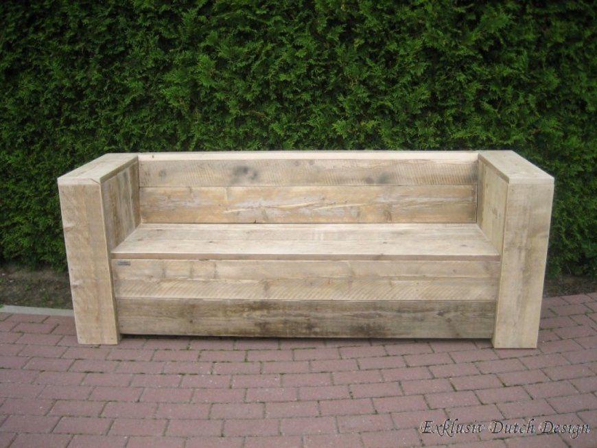 Massive Holzbank Selber Bauen Holz Gartenbank von Massive Holzbank Selber Bauen Photo
