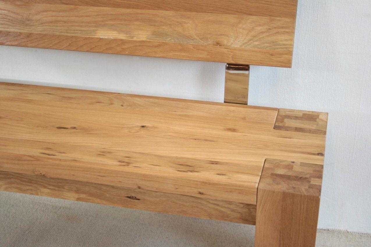 Massive Holzbank Selber Bauen von Holzbank Mit Lehne Selber Bauen Bild