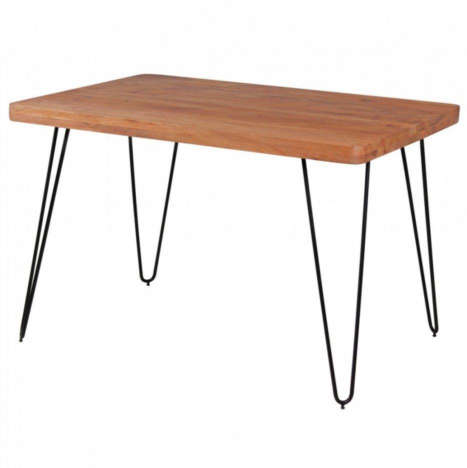 Massivholz Akazie Esstisch 120 X 80 X 76 Cm Küchentisch Massiv von Esstisch 80 X 120 Bild