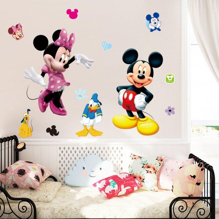 Mehr Designs Mickey Maus Wunderhaus Minnie Wandaufkleber Abnehmbare von Wandtattoo Micky Maus Wunderhaus Photo