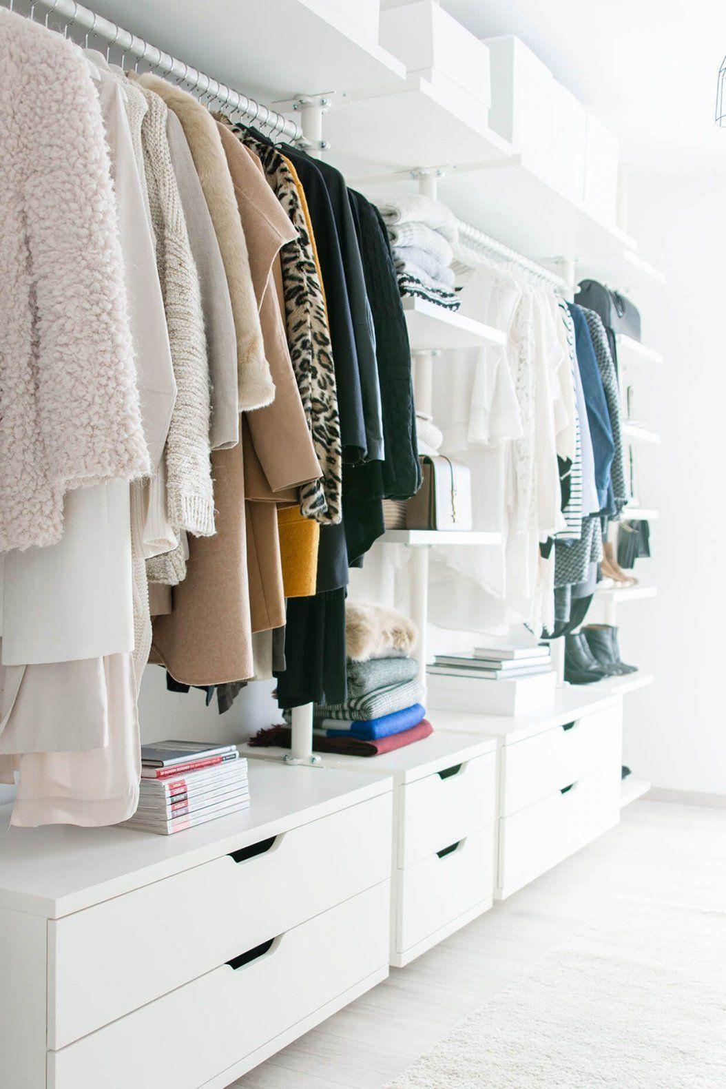 Mein Ankleidezimmer  Ein Wohntraum Wird Wahr  Ankleidezimmer von Begehbarer Kleiderschrank Ikea Stolmen Bild