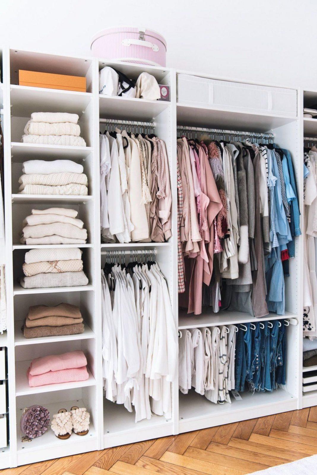 Mein Begehbarer Kleiderschrank  Doors Inloopkast En Slaapkamer von Begehbarer Kleiderschrank Ikea Pax Bild