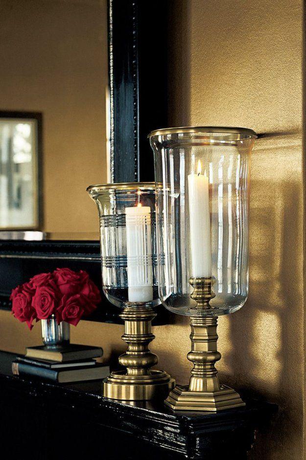 Metallische wandgestaltung f r luxuri ses ambiente mit for Wandfarbe gold farbe wandgestaltung