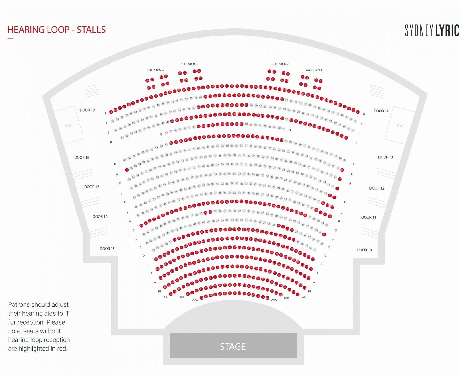 Metropolitan Opera Seating Plan New Seating Plan Sydney Lyric von Lyric Opera Seating Chart Bild