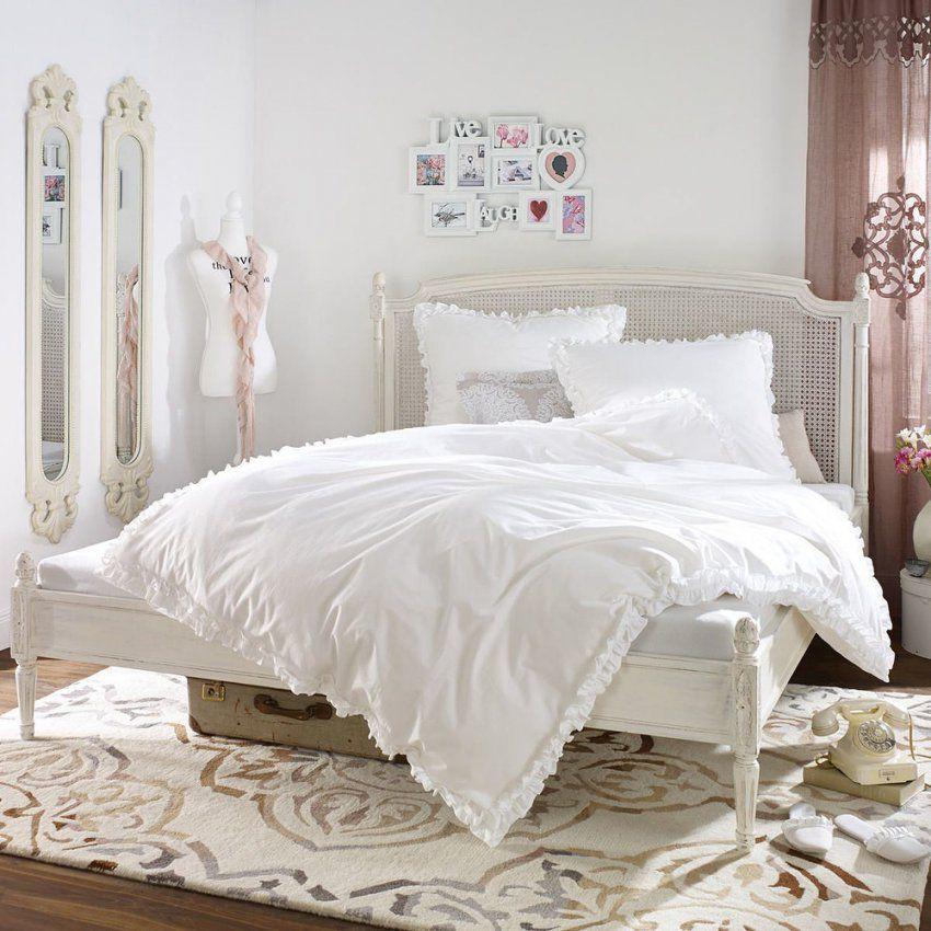 Miavilla Bettwäsche Rüschen Weiß 135 X 200 Cm Günstig Online Kaufen von Bettwäsche Mit Rüschen Bild