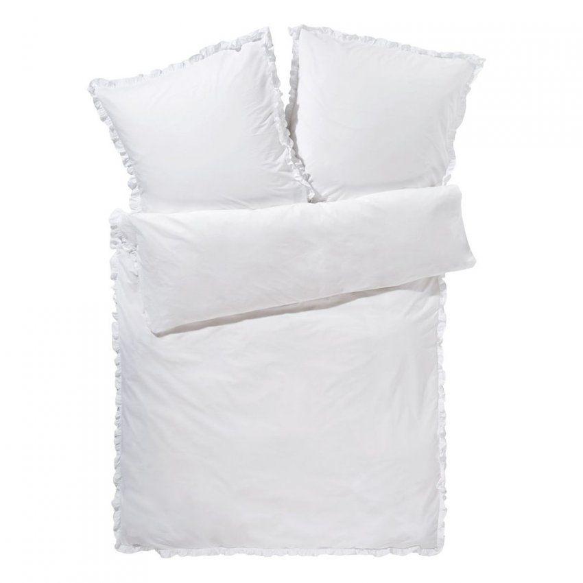 Miavilla Bettwäsche Rüschen Weiß 135 X 200 Cm Günstig Online Kaufen von Rüschen Bettwäsche Weiß Photo