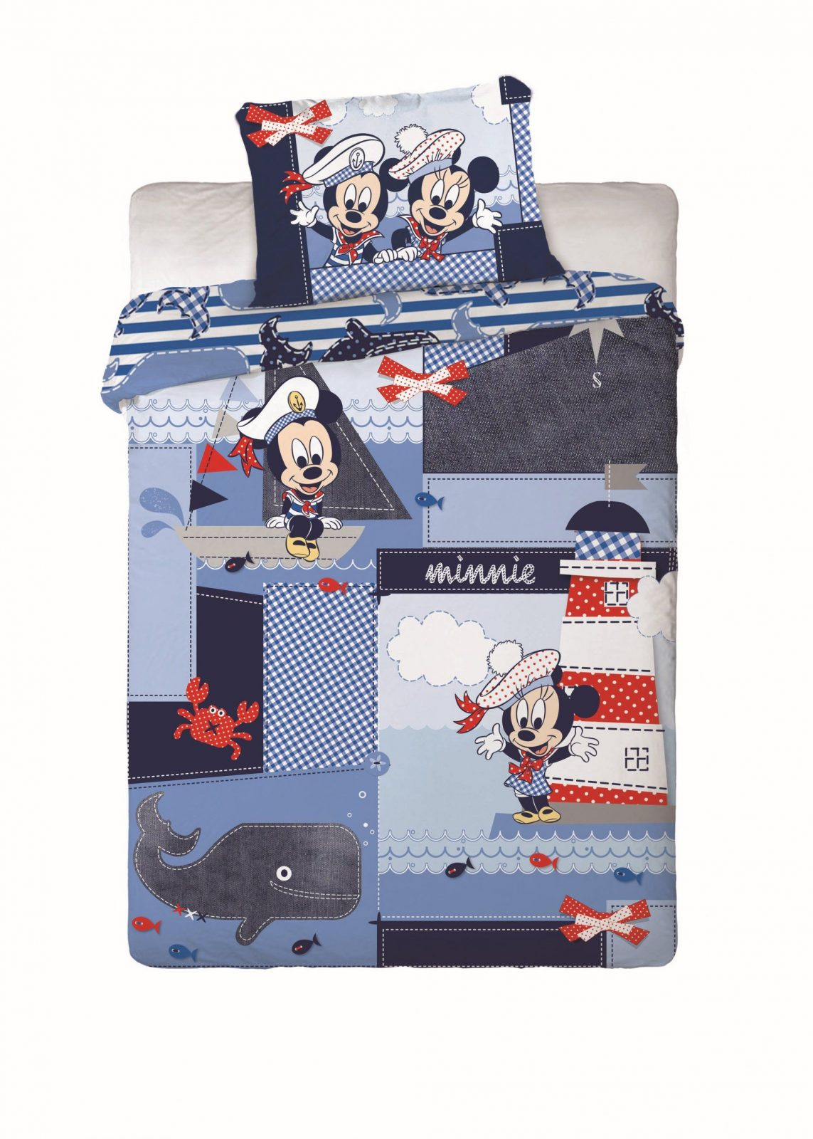 Mickey Mouse Baby Bettwaesche Set  Dibinekadar Decoration von Baby Bettwäsche Mickey Mouse Bild