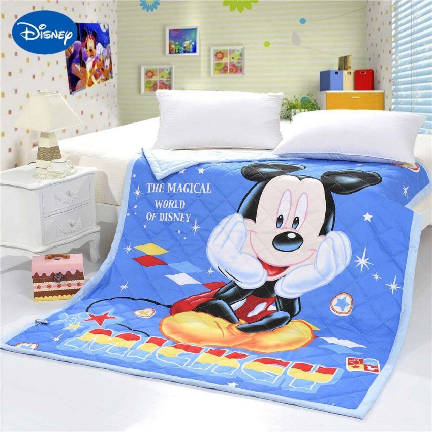 Mickey Mouse Krippe Bettwaesche Set Fuer Baby  Dibinekadar Decoration von Baby Bettwäsche Mickey Mouse Photo