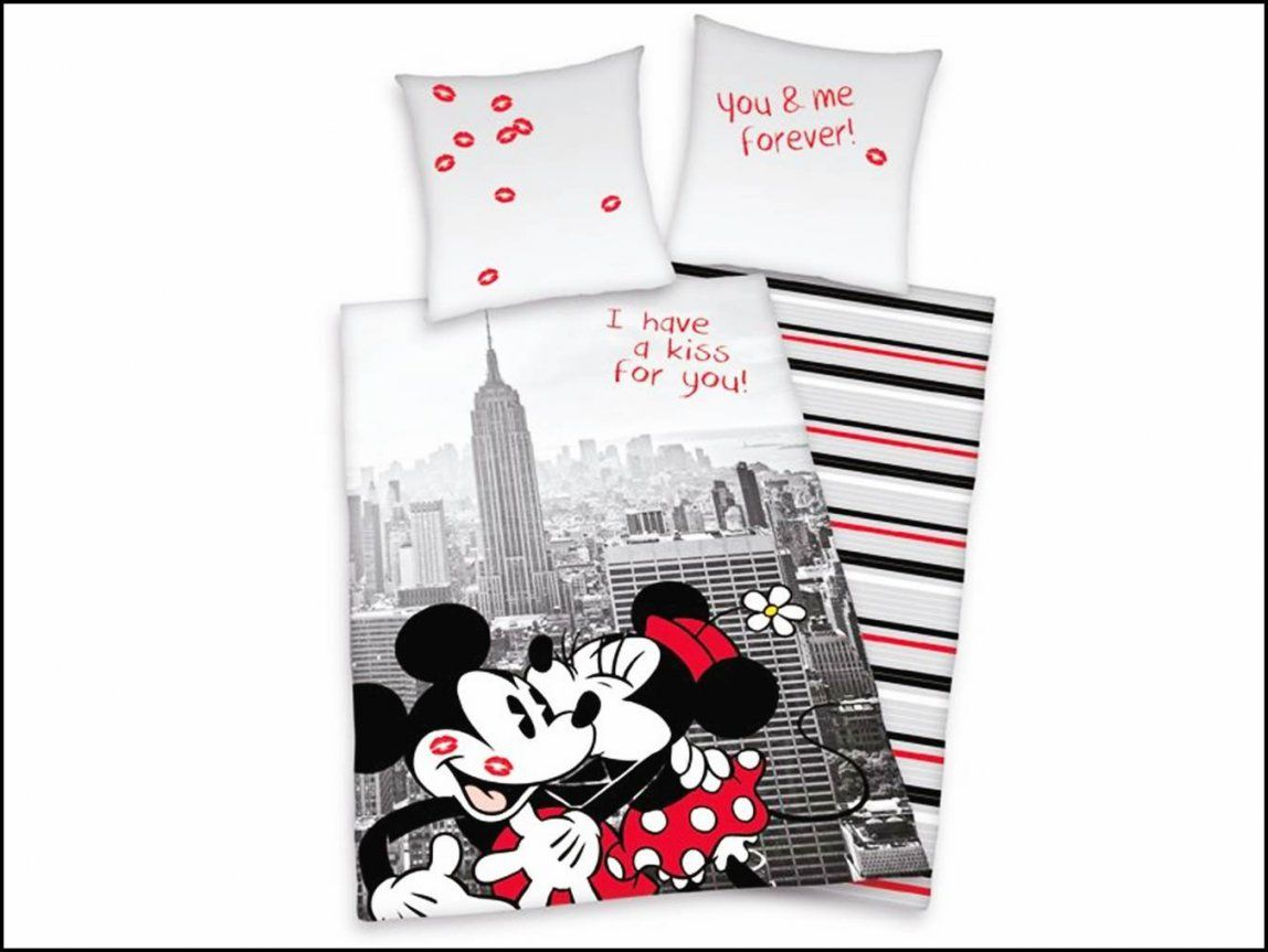 Mickey Mouse Partner Bettwäsche  Ideen Für Zuhause von Micky Maus Partner Bettwäsche Bild