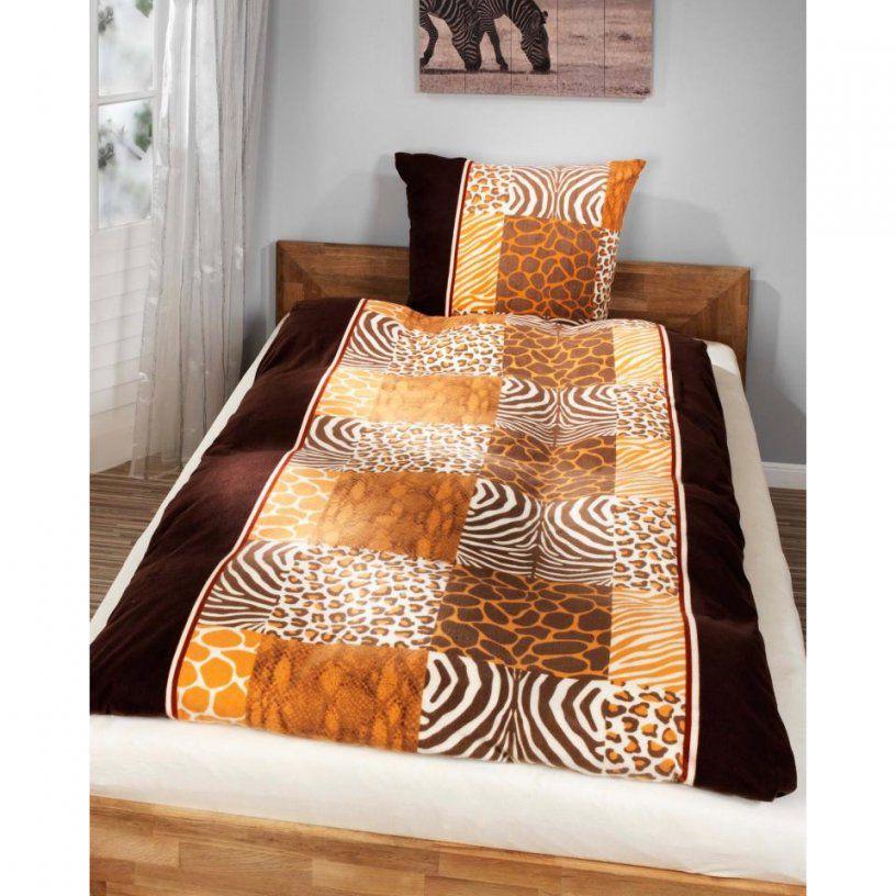 Microbiberbettwäsche Afrika (135 X 200 Cm)  Dänisches Bettenlager von Bettwäsche Afrika Design Bild