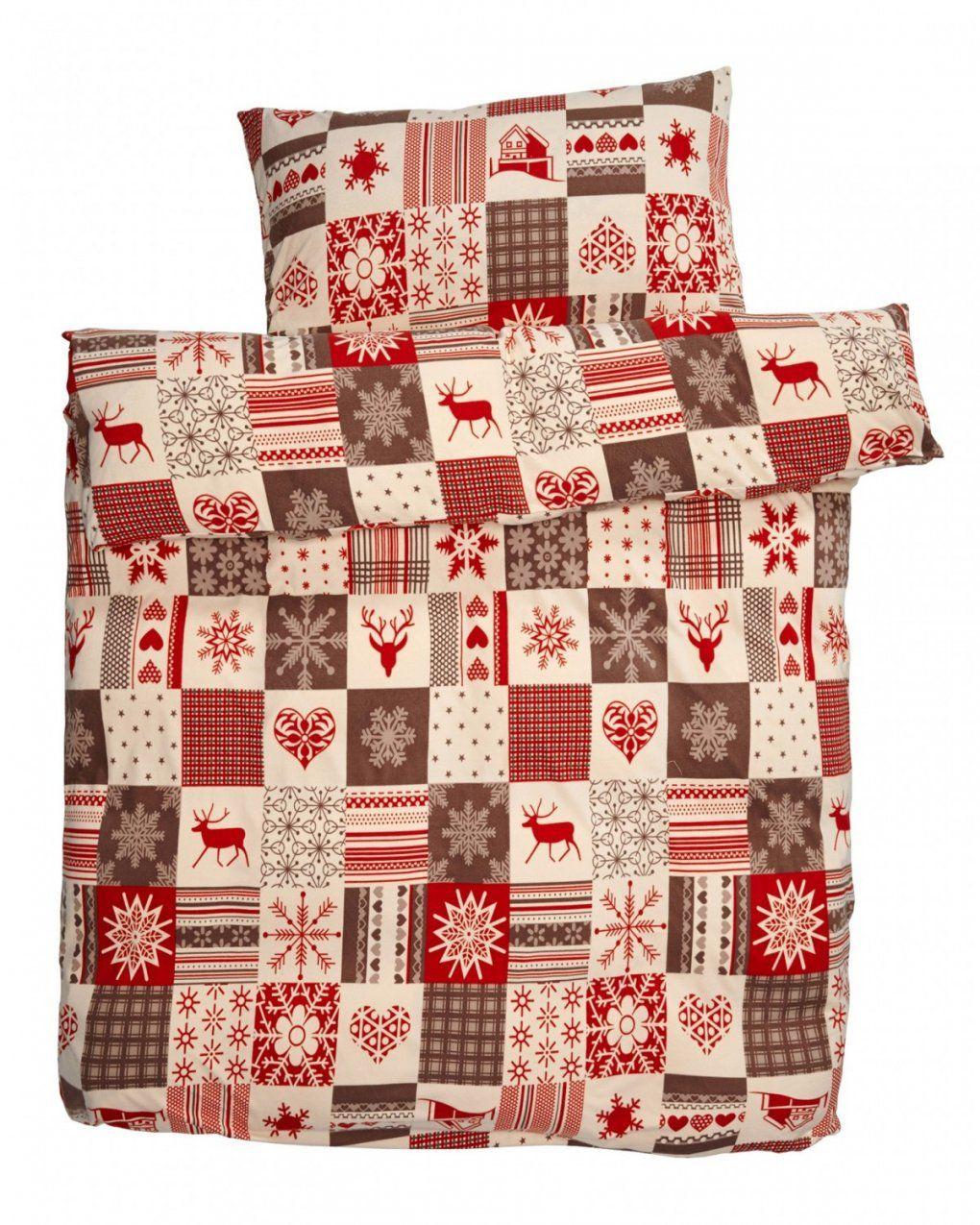 Microbiberbettwäsche Patchwork Weihnachten (140X200)  Dänisches von Bettwäsche Mit Weihnachtsmotiv Photo