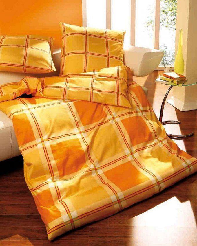 Microfaser Seersucker Kaeppel Bettwäsche 135X200 Provence Mandarine von Kaeppel Bettwäsche Seersucker Bild