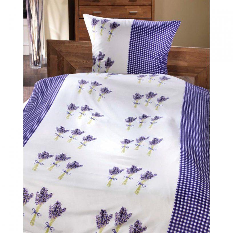 Microfaserbettwäsche Lavendel (135 X 200 Cm)  Dänisches Bettenlager von Bettwäsche Lavendel Motiv Photo