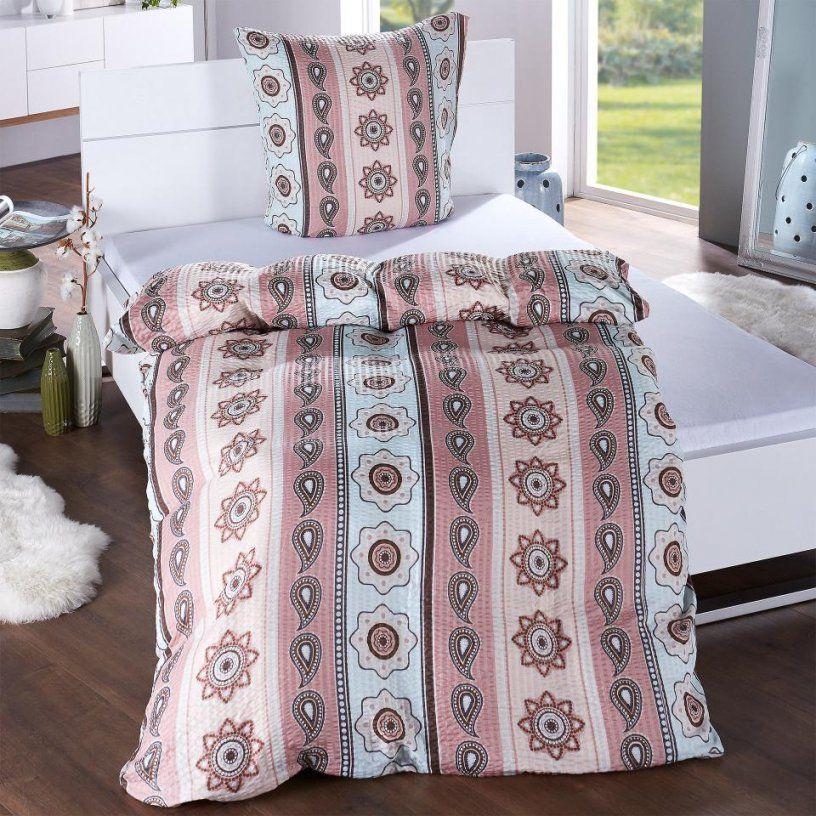 Microseersuckerbettwäsche Elli (135X200)  Dänisches Bettenlager von Bettwäsche 240X220 Dänisches Bettenlager Bild