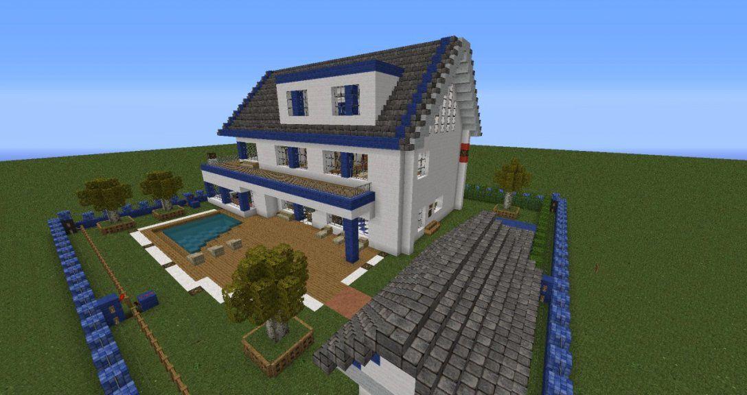 Minecraft Bauernhaus Gallery Of Minecraft Bauernhaus With Avec von Minecraft Villa Bauen Anleitung Bild
