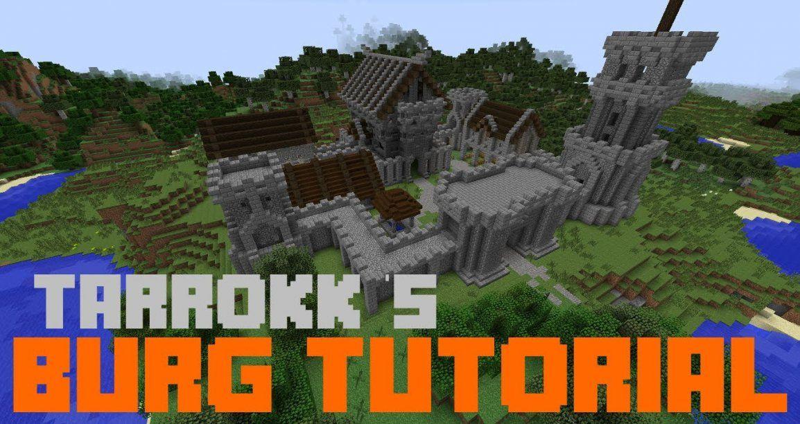 Minecraft  Burg Tutorial 1 [Deutsch]  Youtube von Minecraft Baupläne Zum Nachbauen Bild