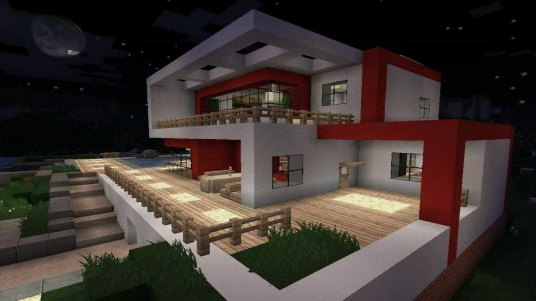 Minecraft Haus Modern 04  Minecraft  Pinterest  Minecraft Haus von Minecraft Modernes Haus Bauen Anleitung Bild