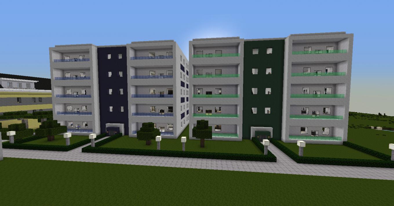 Minecraft Haus Modern Bauplan Mit Moderner Wohnblock Mulenja Co 12 von Minecraft Häuser Modern Bauplan Photo