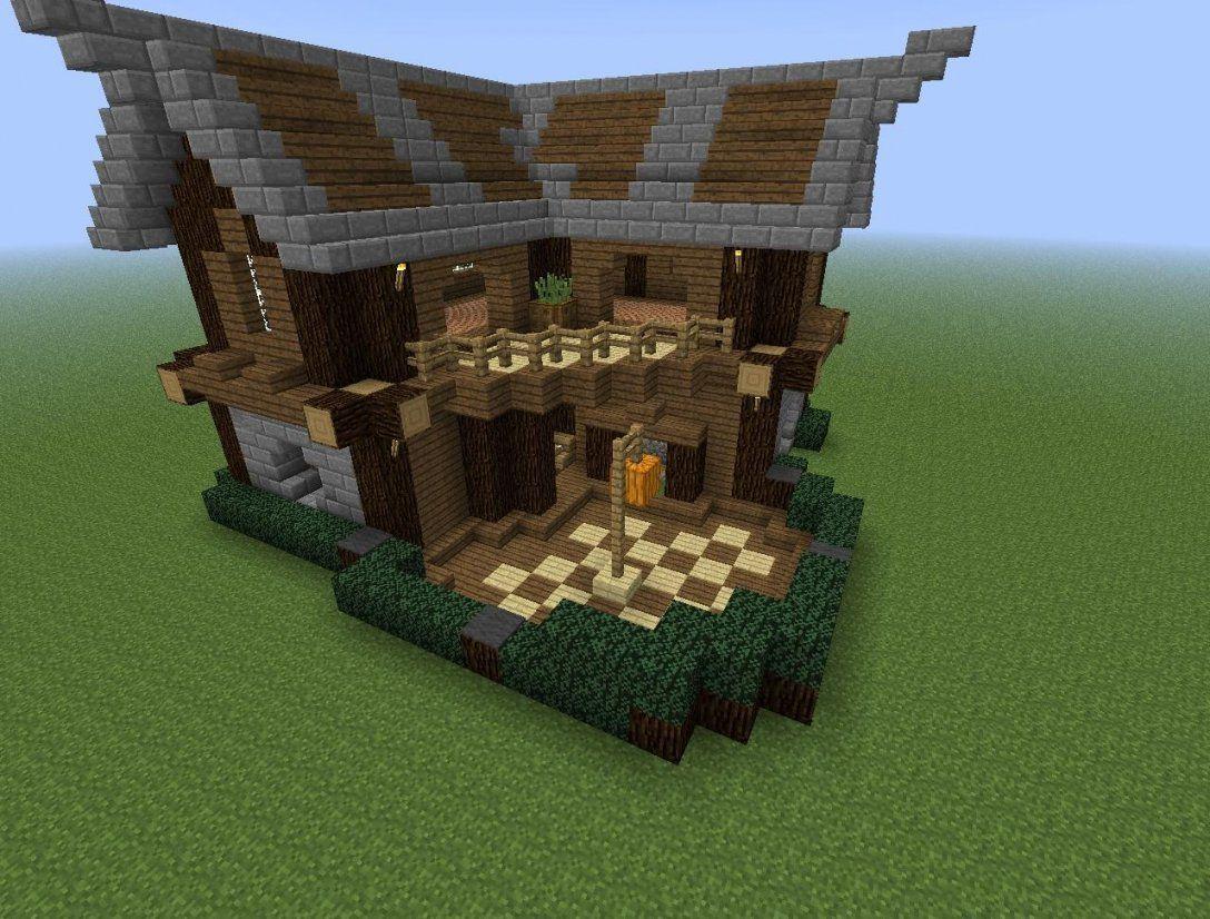 Minecraft Haus Modern Holz Avec Minecraft Asiatisches Haus Et von Minecraft Mittelalter Haus Bauplan Bild