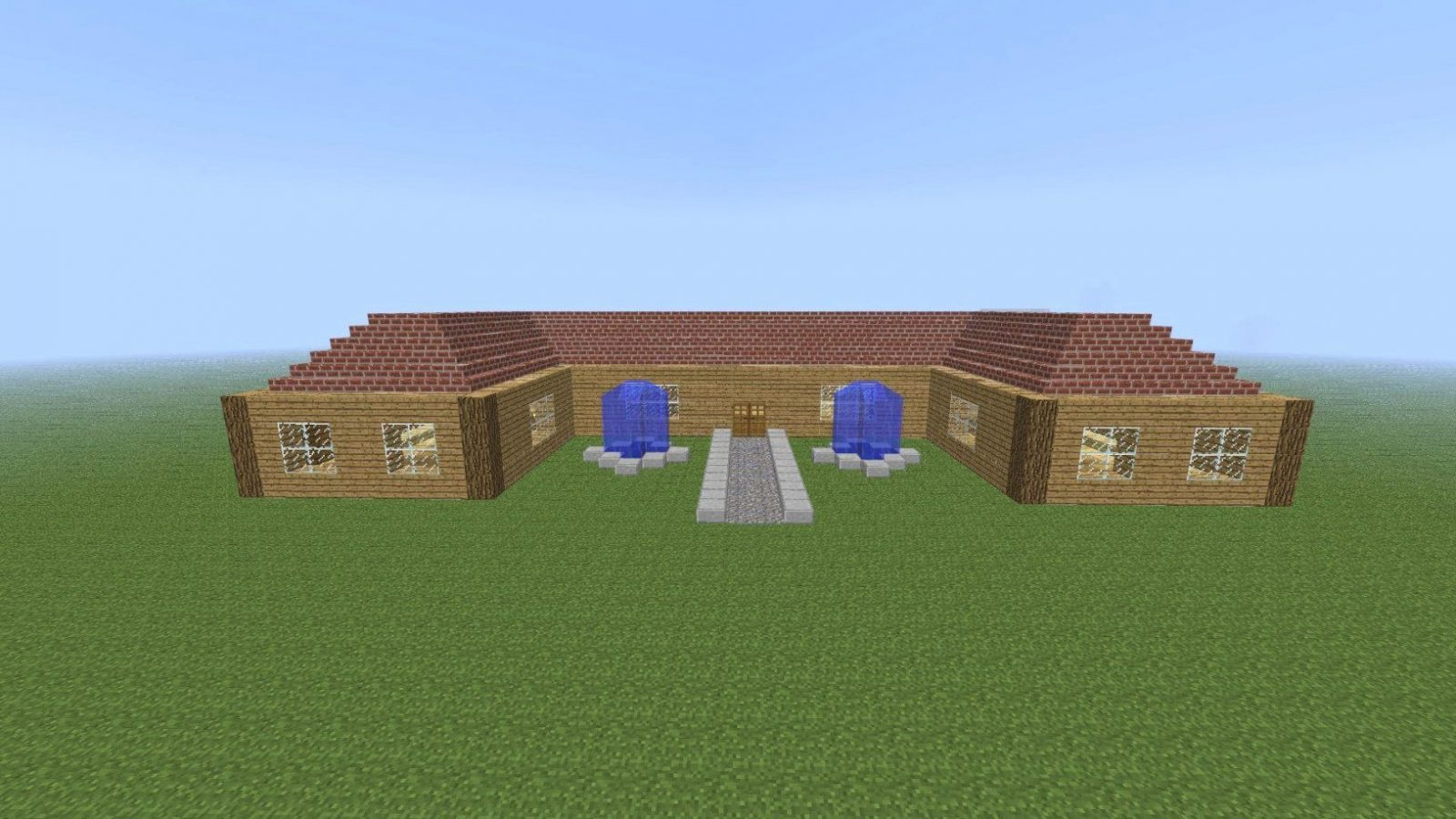 Minecraft Häuser Nachbauen Mit Minecraft Modernes Zwei Familien Avec von Coole Minecraft Häuser Zum Nachbauen Bild