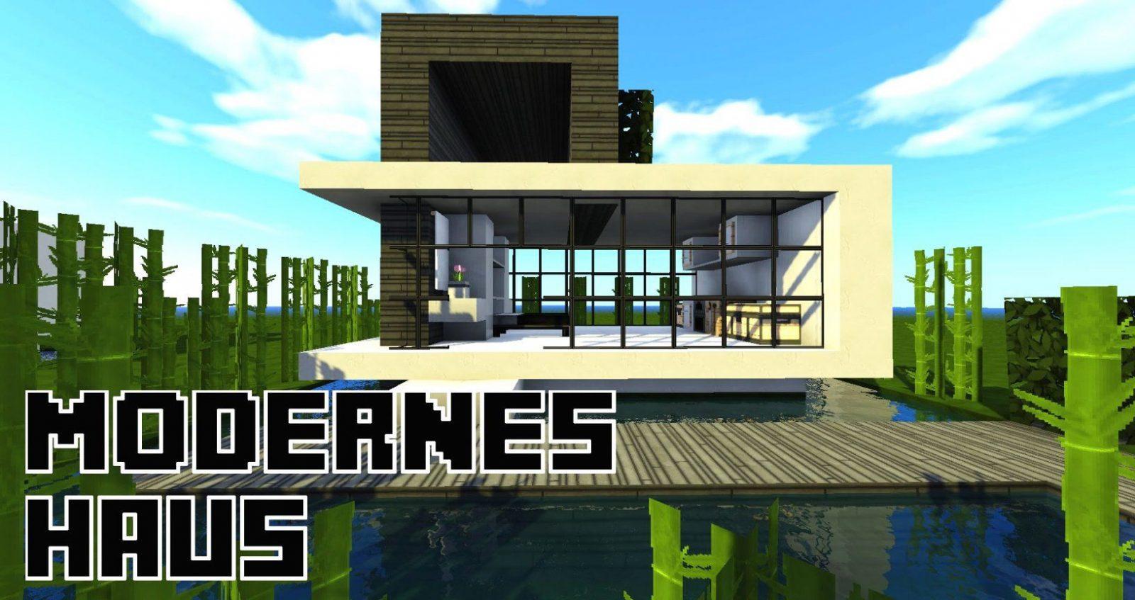 Minecraft Häuser Nachbauen Mit Minecraft Modernes Zwei Familien Avec von Minecraft Häuser Modern Zum Nachbauen Bild