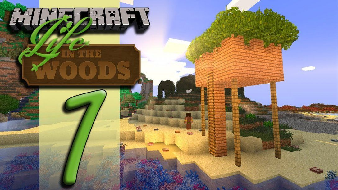Minecraft Life In The Woods  Ep01  Beautiful  Youtube von Life In The Woods Minecraft Bild