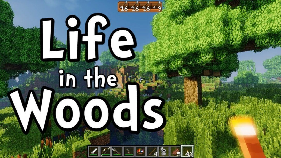 Minecraft Life In The Woods Ep01 Beautiful Youtube Von