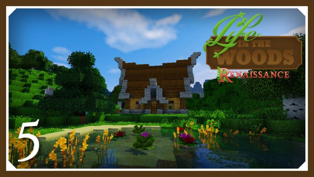 Minecraft Life In The Woods Renaissance Hungry  Starter House  E05 von Life In The Woods Minecraft Bild