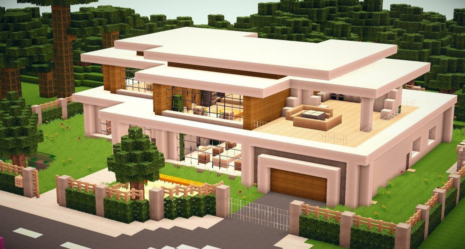 Minecraft  Modern House 010 [Hd][Download]  Youtube von Minecraft Modernes Haus Download Bild