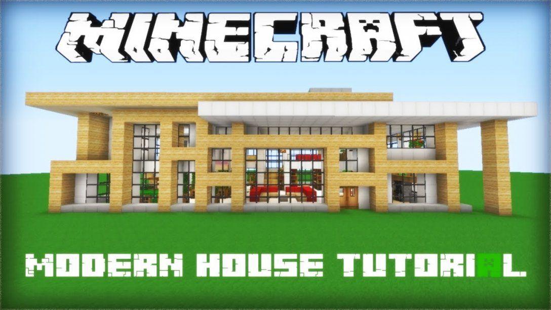 Minecraft Modern House Tutorial Part 1  Youtube von Minecraft Modern Mansion Blueprints Photo