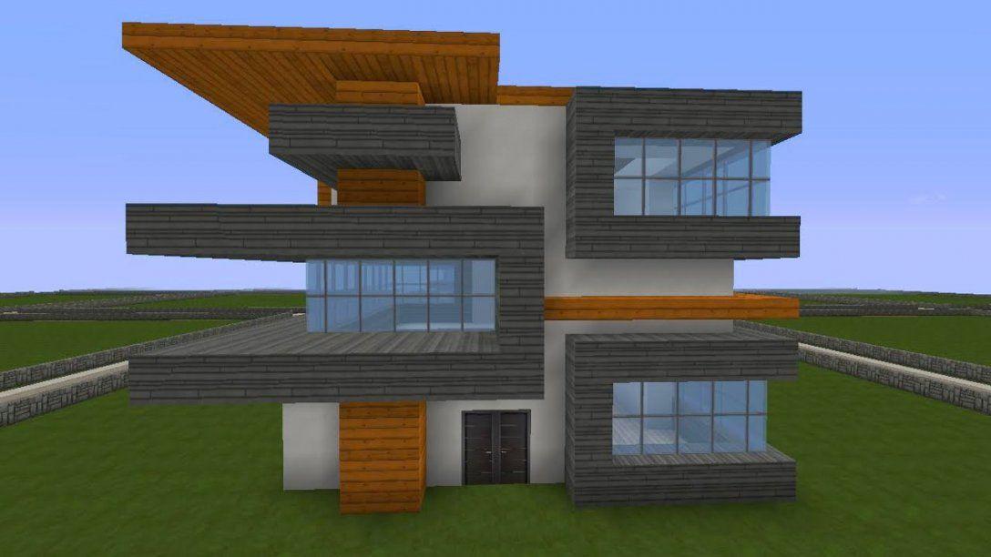 Minecraft Modernes Haus Freitag Hochhaus Braun Weiß Bauen Avec Haus von Coole Minecraft Häuser Zum Nachbauen Photo
