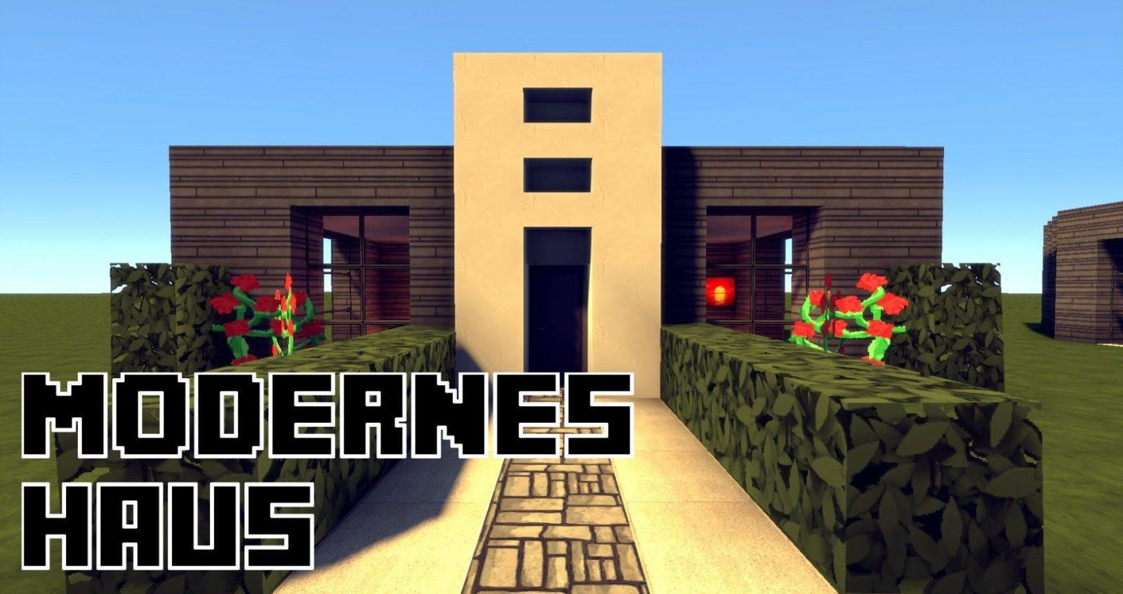 Minecraft Modernes Haus Mit Flachdach Bauen 13X9  Tutorial von Minecraft Modernes Haus Download Bild