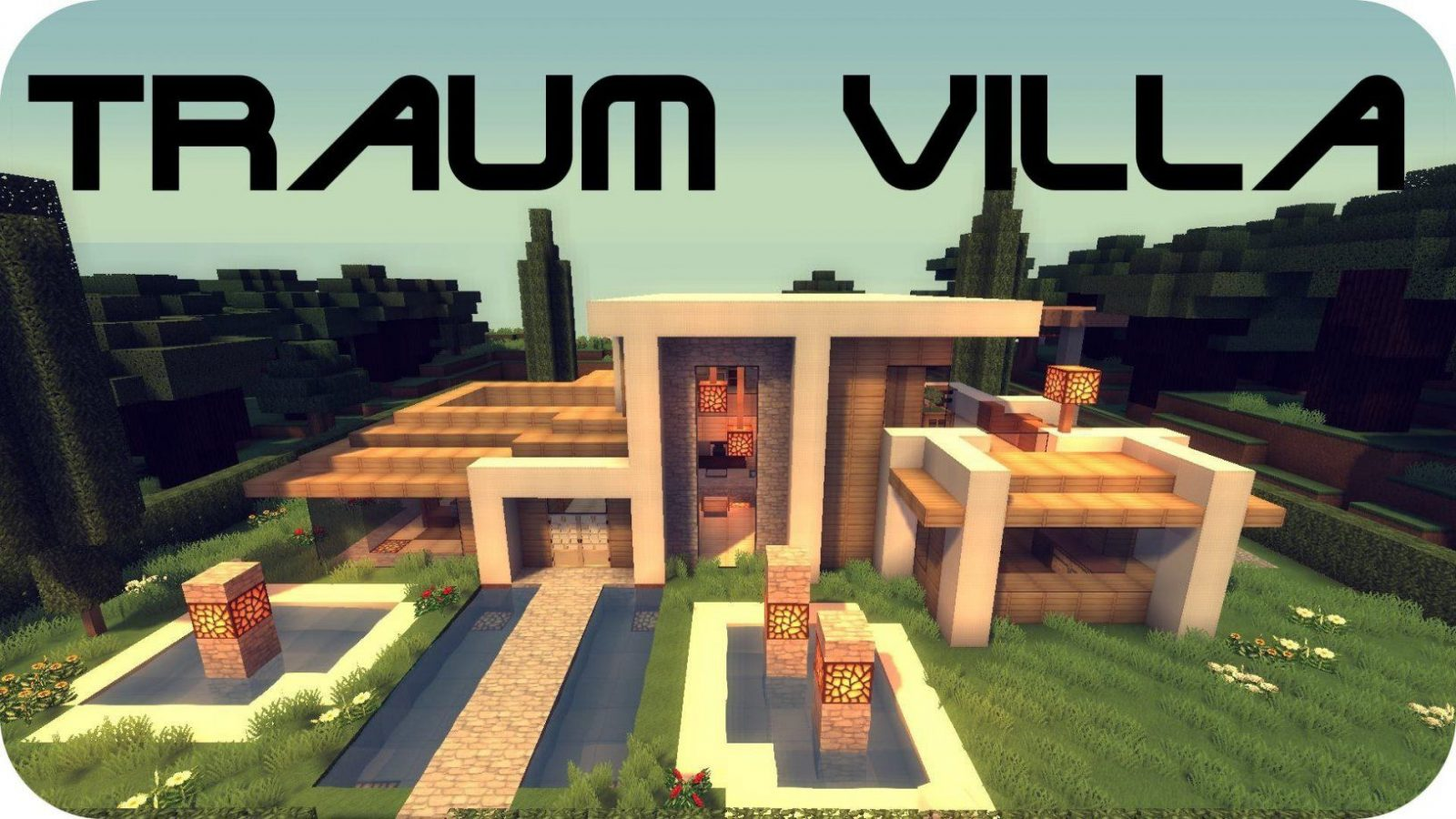 Minecraft Modernes Haus  Traumvilla (+Download)  Youtube von Minecraft Modernes Haus Download Photo