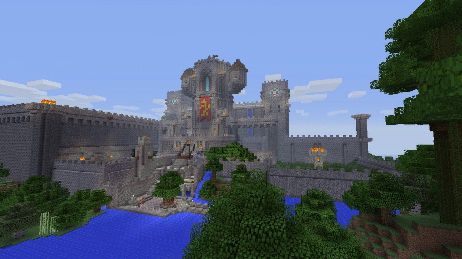 Minecraft Playstation 3 Edition Gets A Bluray Release Next Month von Minecraft Seeds Ps4 Castle Photo