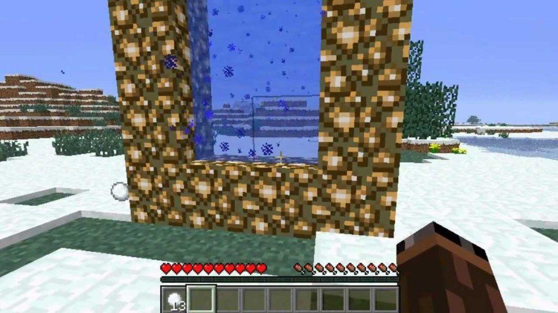 Minecraft Tutorial Ein Aether Portal Bauen Deutschhd Youtube Von