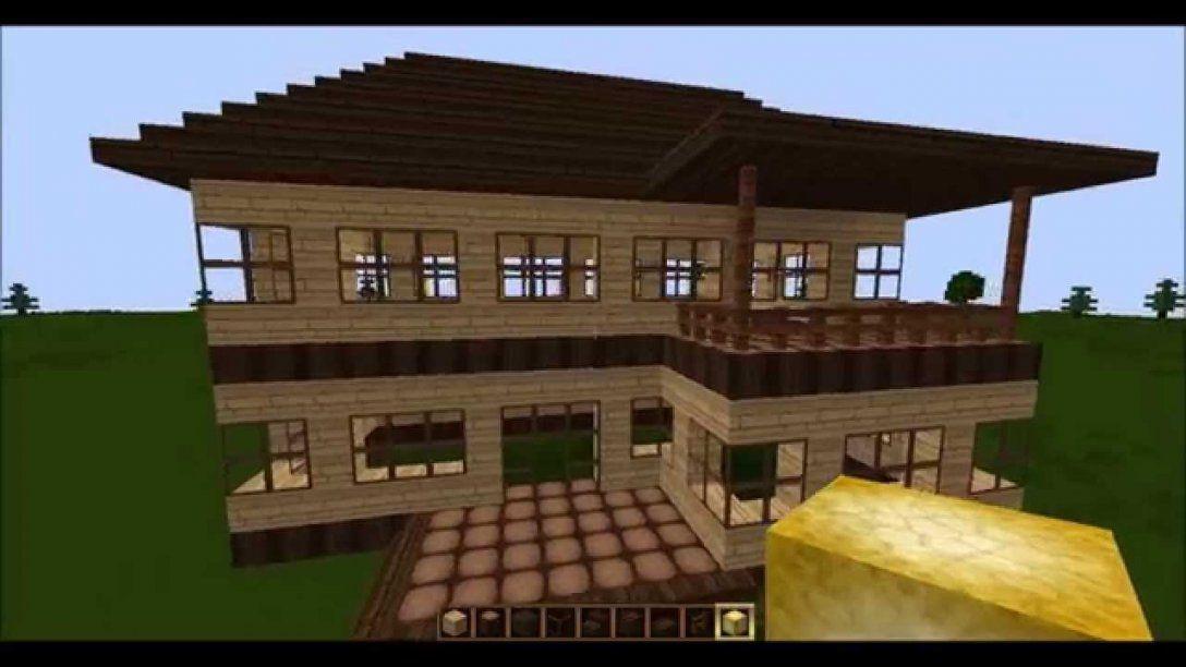 Minecraft Tutorial  Wie Baue Ich Ein Schönes Haus (Teil 1  Rohbau von Minecraft Schönes Haus Bauen Photo