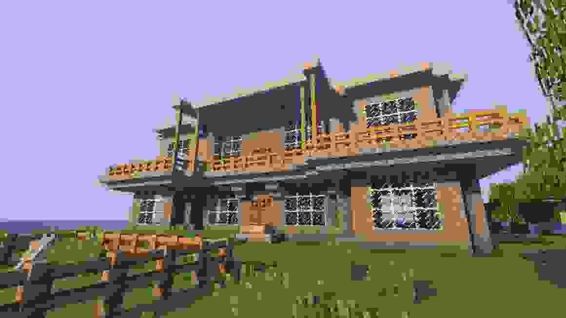 Minecraft Villa Bauen Anleitung Ist Einzigartig Planen Von Haus von Minecraft Schönes Haus Bauen Bild