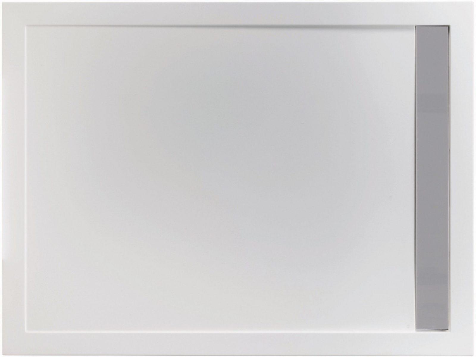 Mineralguss Duschwanne 160 X 80 Cm Mit Ablaufrinne von Duschwanne 80 X 160 Bild