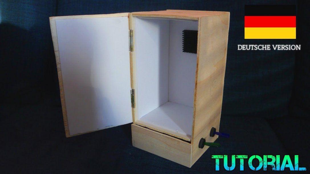 Kleiner Kühlschrank Heineken : Mini kühlschrank selber bauen tutorial peltier element kühlbox von