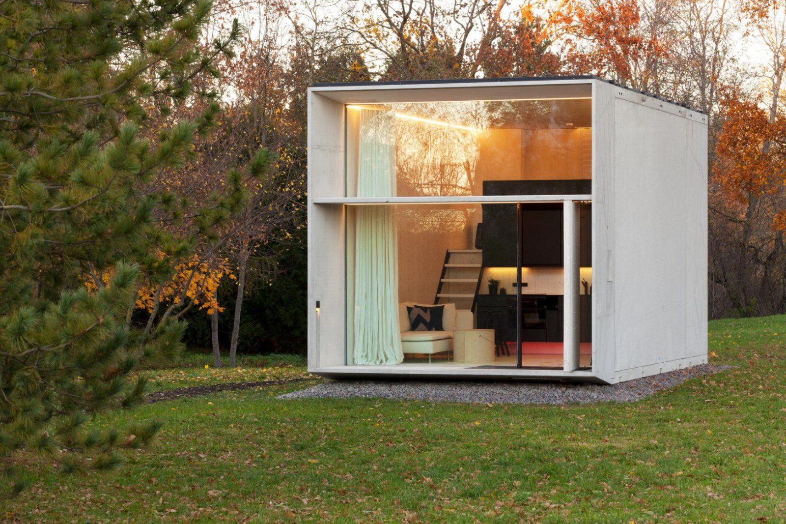 Minihaus Dieser Kuschelwürfel Ist Ein Wohntraum  Brigitte von Container Haus Kaufen Deutschland Bild