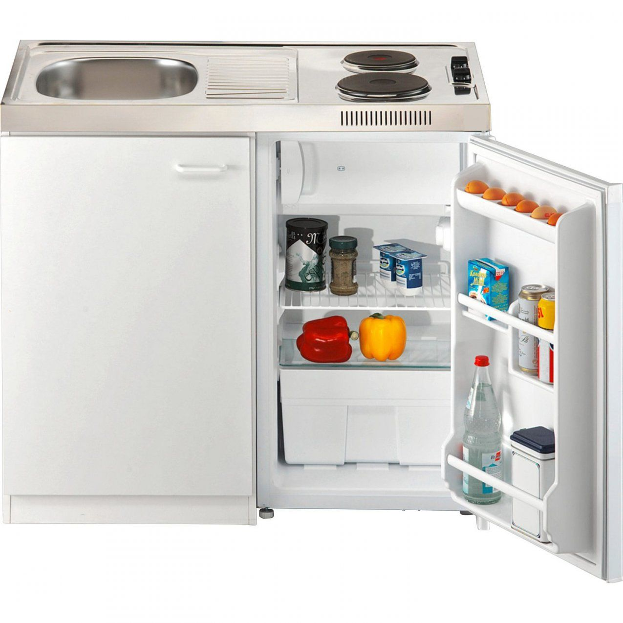 Miniküche 100 Cm Kaufen Bei Obi von Pantryküche 100 Cm Mit Kühlschrank Bild