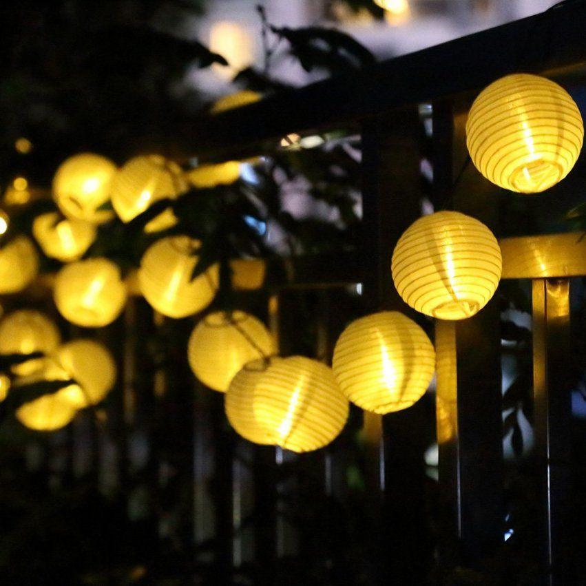 Minilampion Outdoor Solar Lichterkette • Garten Gadgets von Solar Lampions Für Den Garten Bild