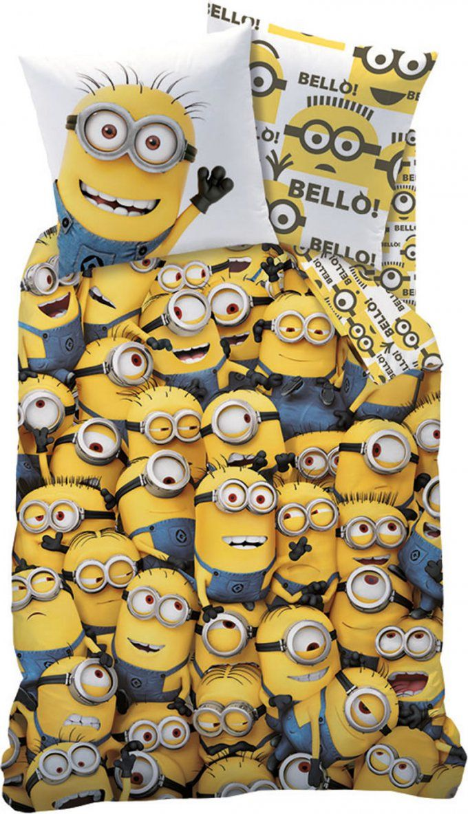 Minions Bed Linen Minions Family Online At Papiton von Minions Bettwäsche Real Bild