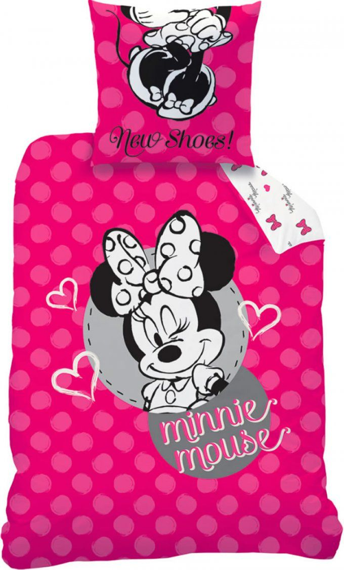Minnie Maus Bettwäsche Minnie Mouse Biancheria Da Letto Minnie von Mini Maus Bettwäsche Bild