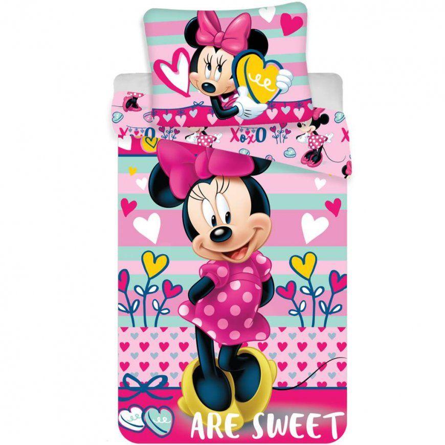 Minnie Mouse Duvet Mikrofaser 140X200 + 70X90  Simbashopnl von Minnie Mouse Bettwäsche 70X140 Photo