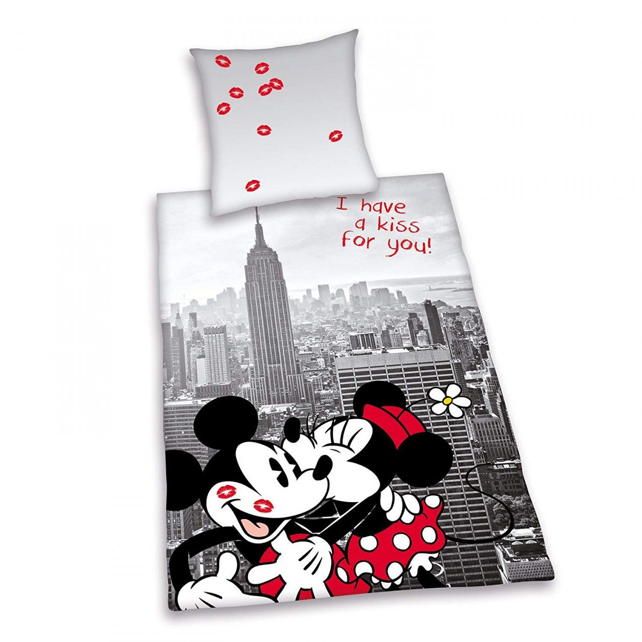 Minnie Und Mickey Bettwaesche Set  Dibinekadar Decoration von Mickey Mouse Bettwäsche 200X200 Bild