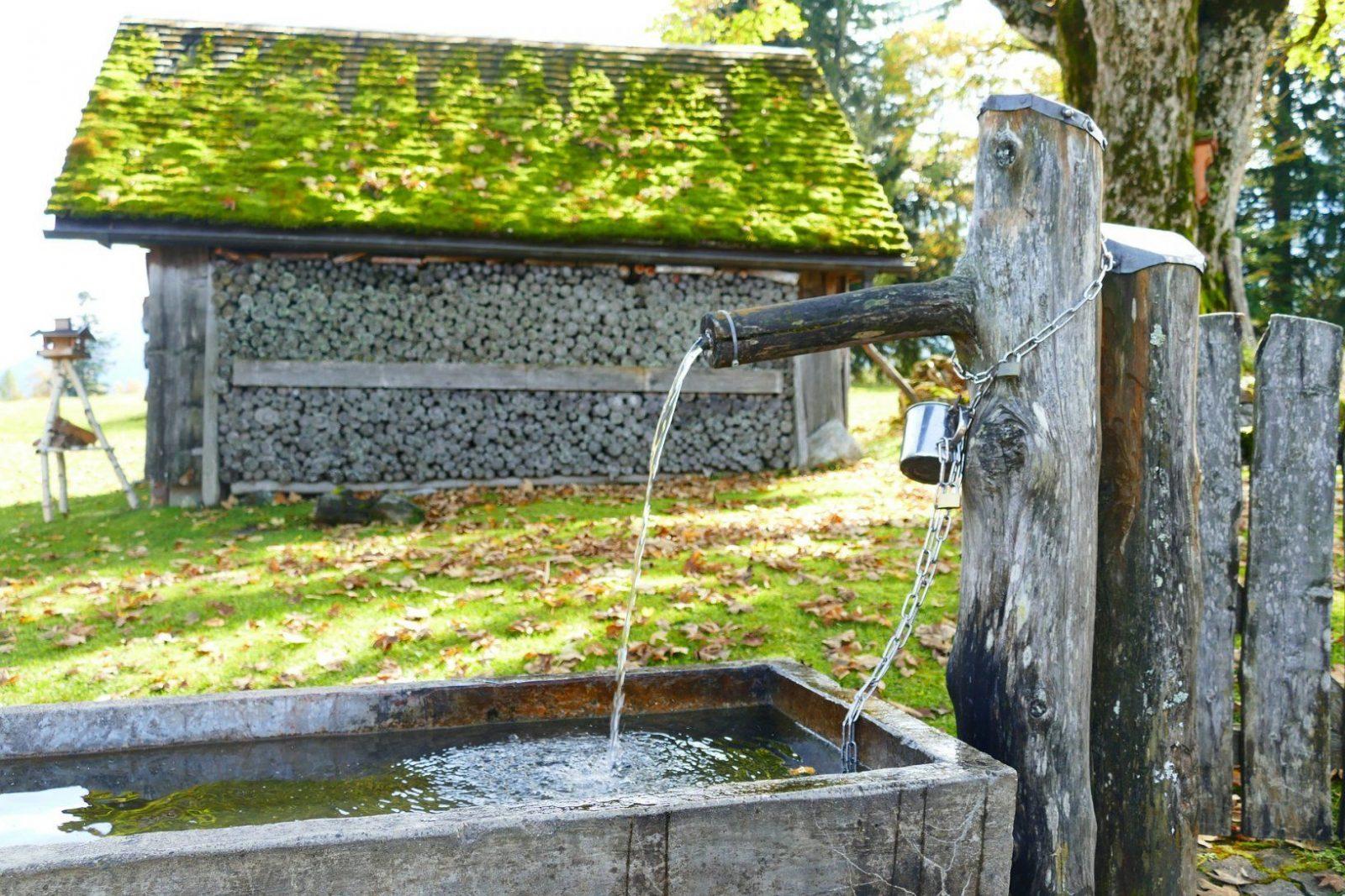 Mit Einem Brunnen Den Garten Aufwerten Von Brunnen Garten Selber Bauen Photo